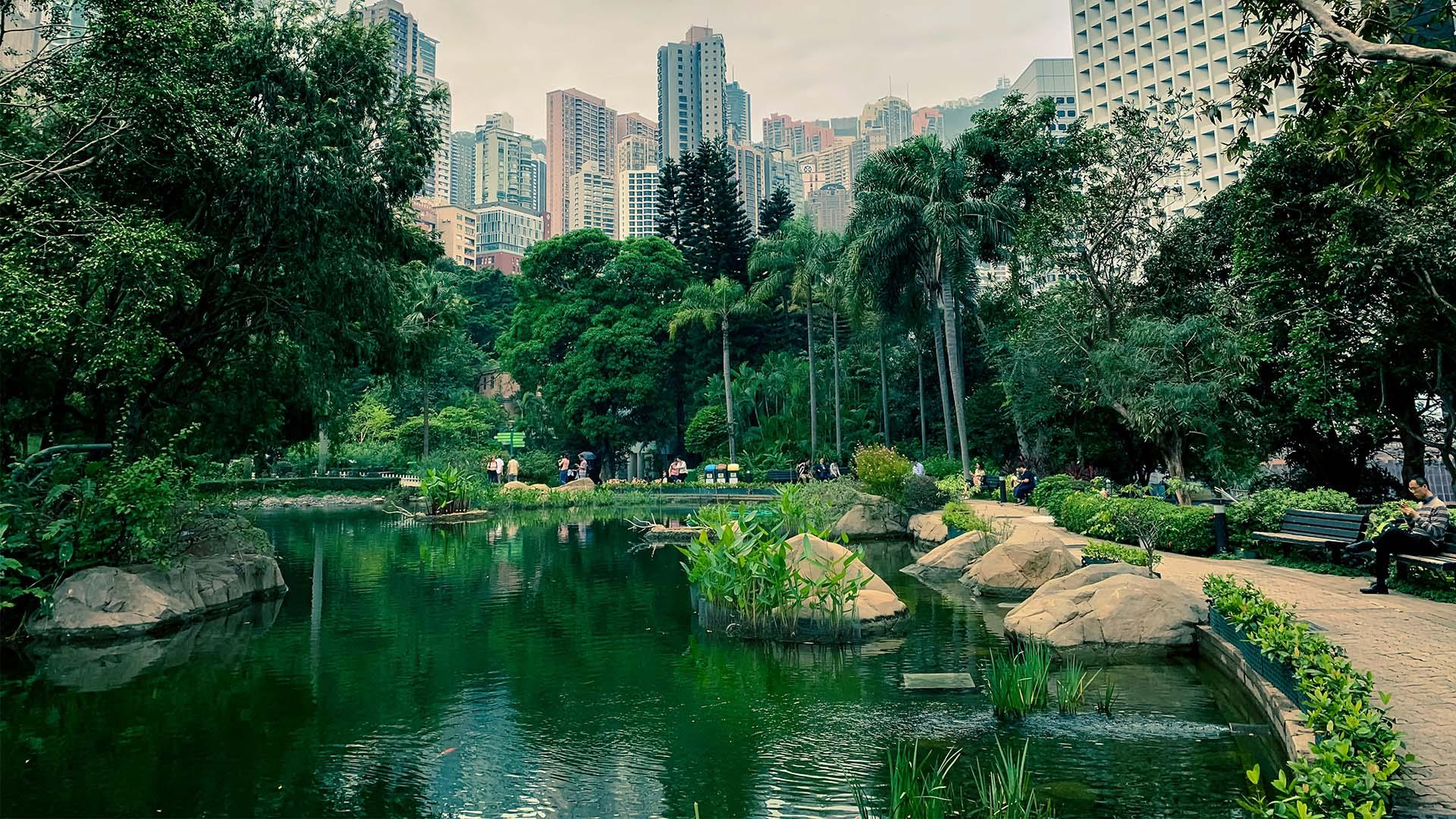 Seeking out green spaces in Hong Kong