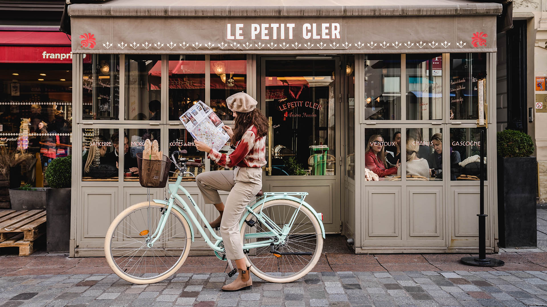 Paris, Bruges & Amsterdam by boat & bike