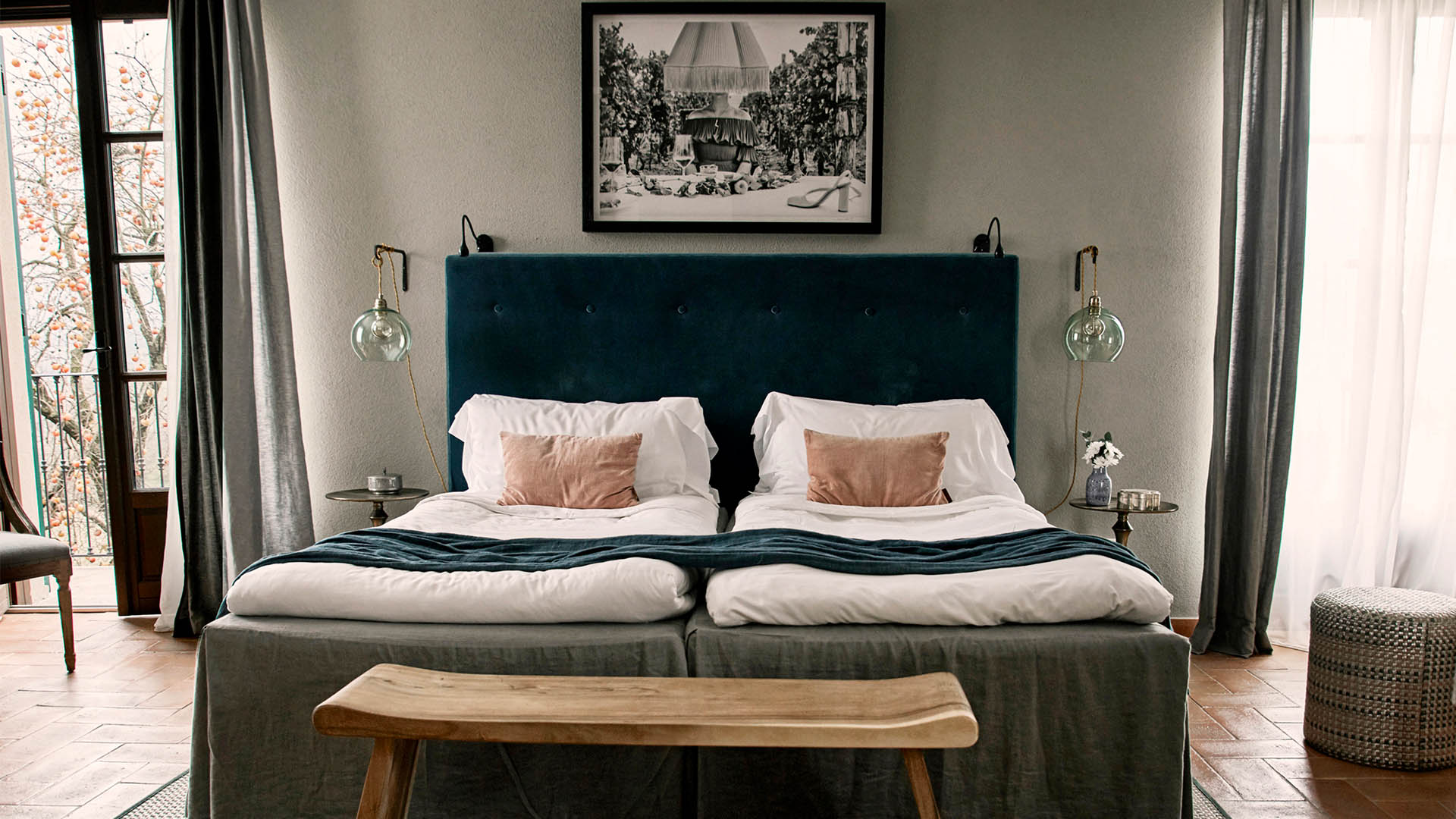 6 of europe's most beautiful bedrooms  small luxury hotels
