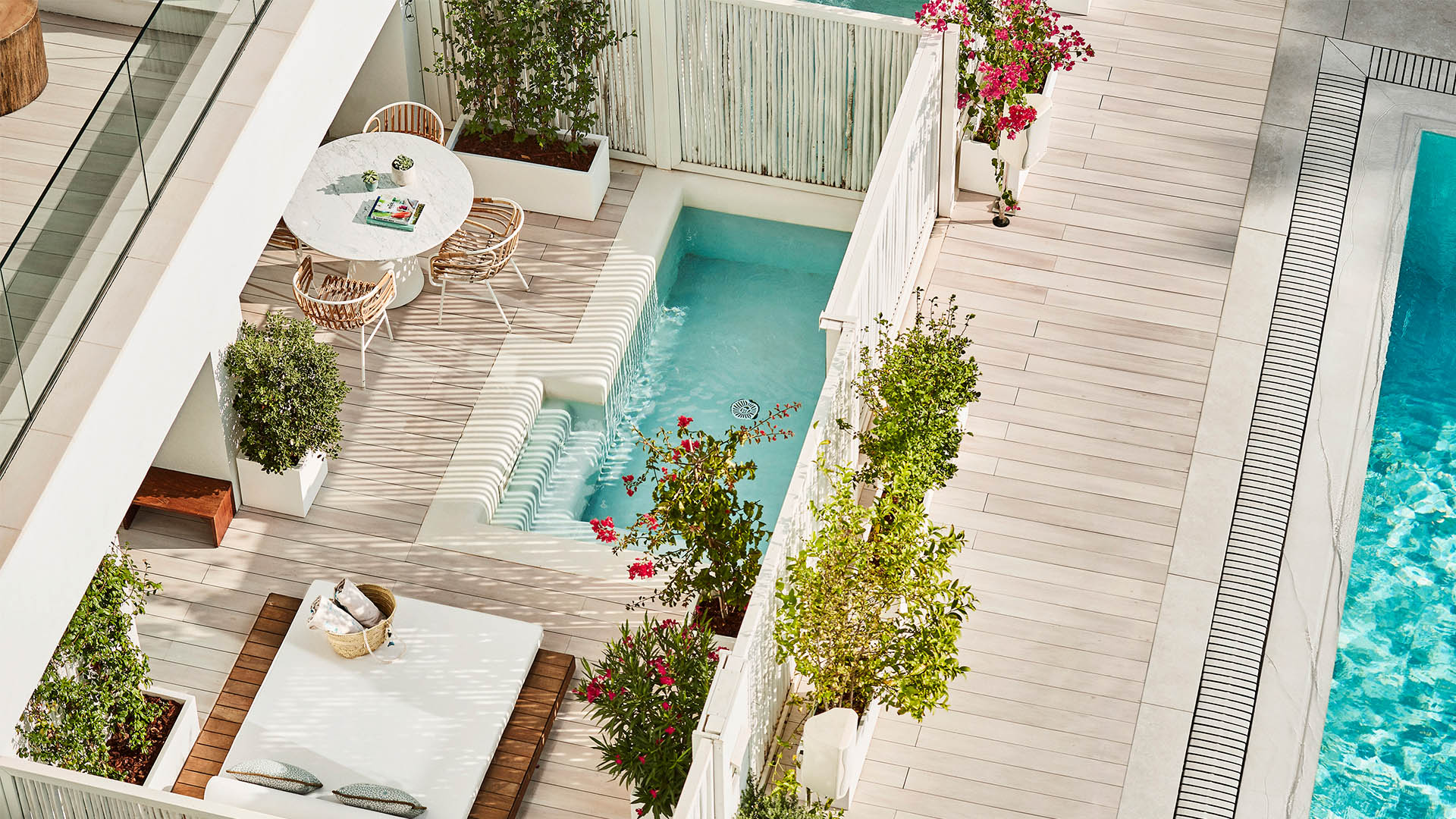Splash out: 12 boutique hotel rooms with private pools