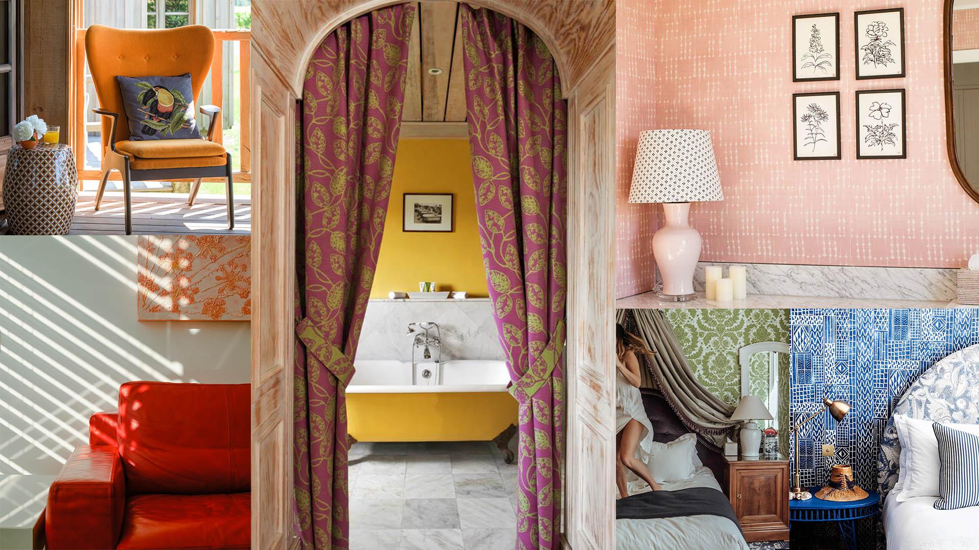 Interior inspiration: around the world in colour