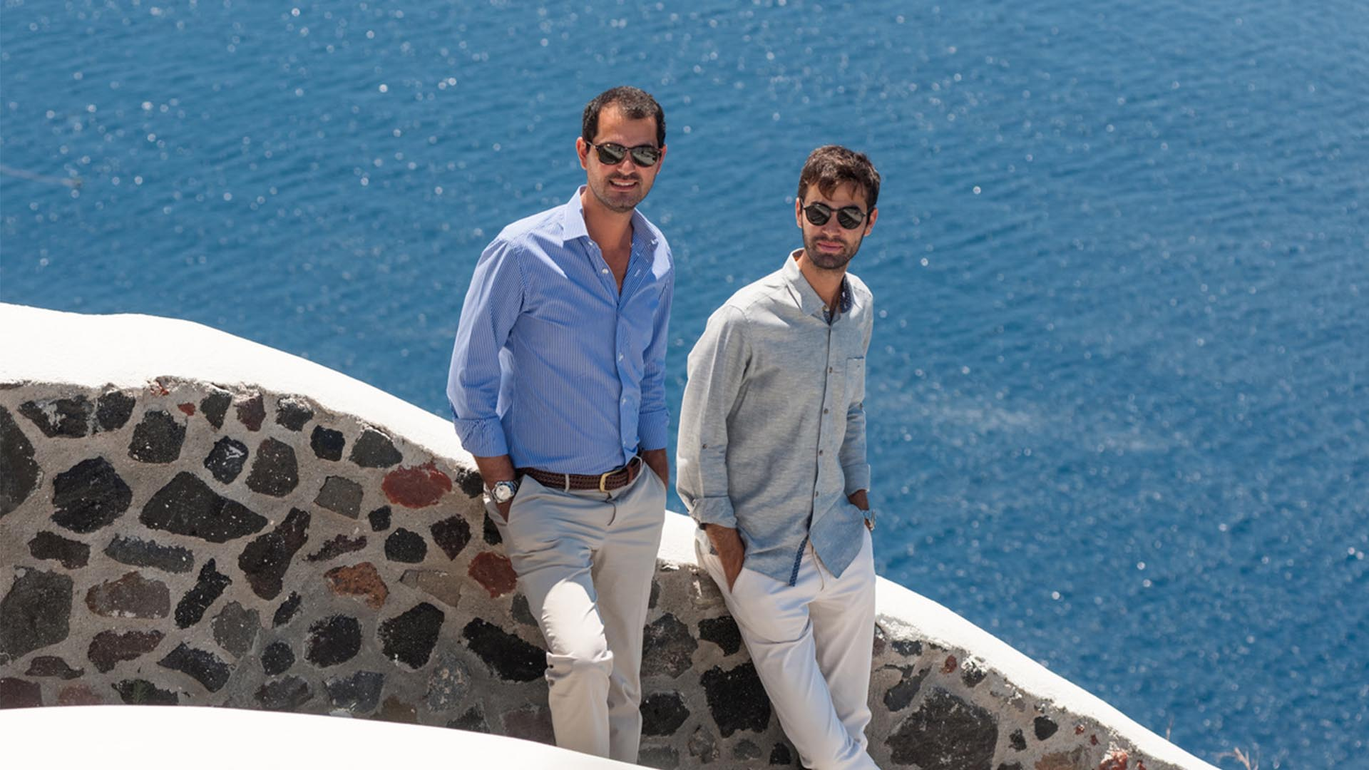 Independent Minds: Markos Chaidemenos, Canaves Oia Santorini