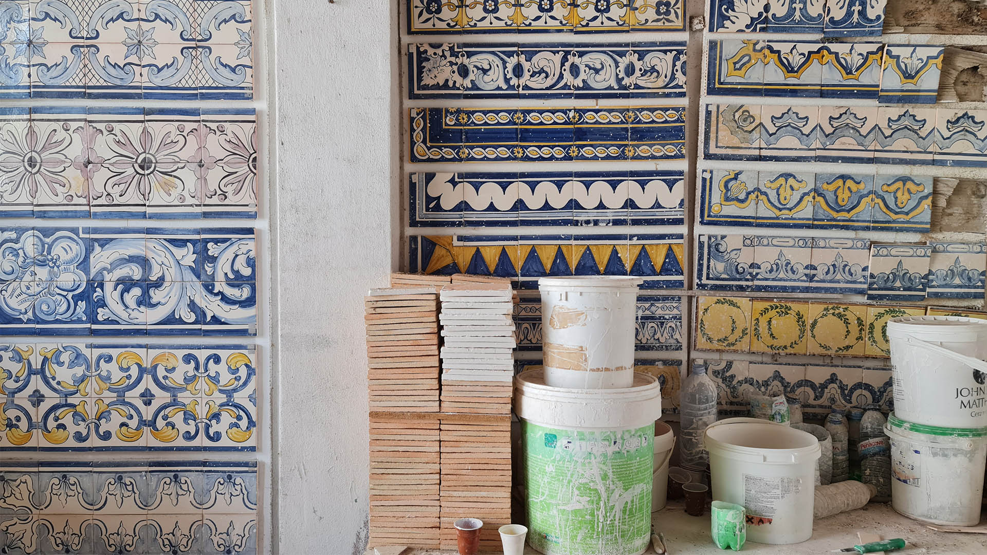 Inside an azulejos atelier: piecing together the past of Portugal's iconic tiles