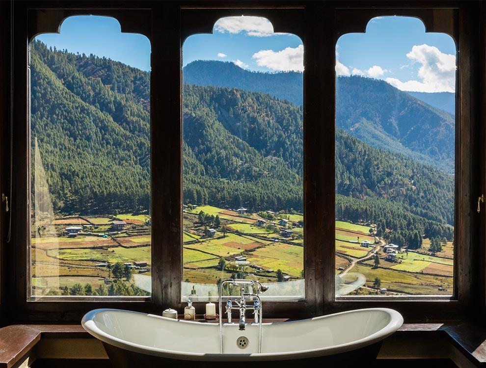 Gangtey Lodge Bath