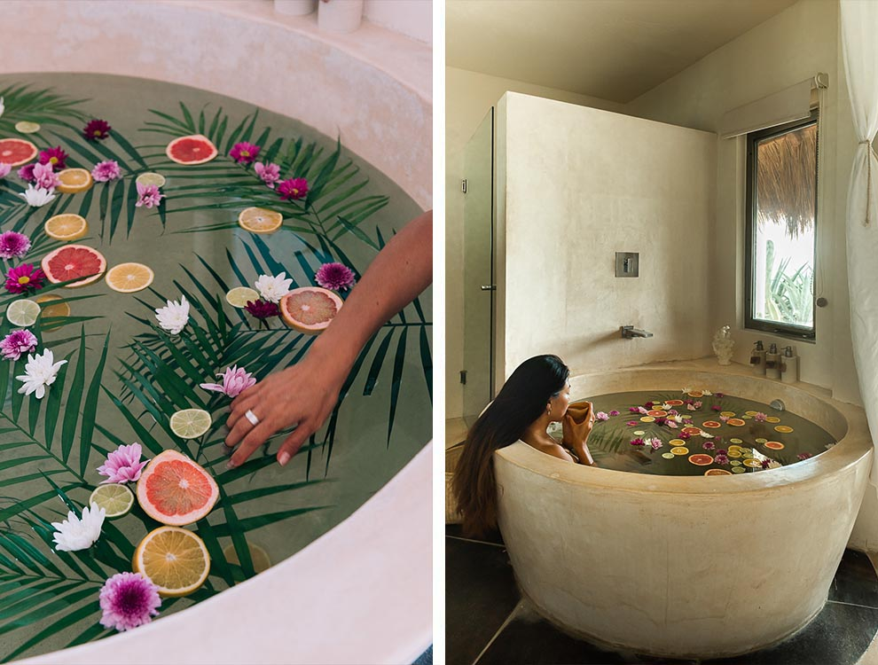 Mezzanine Bathtub