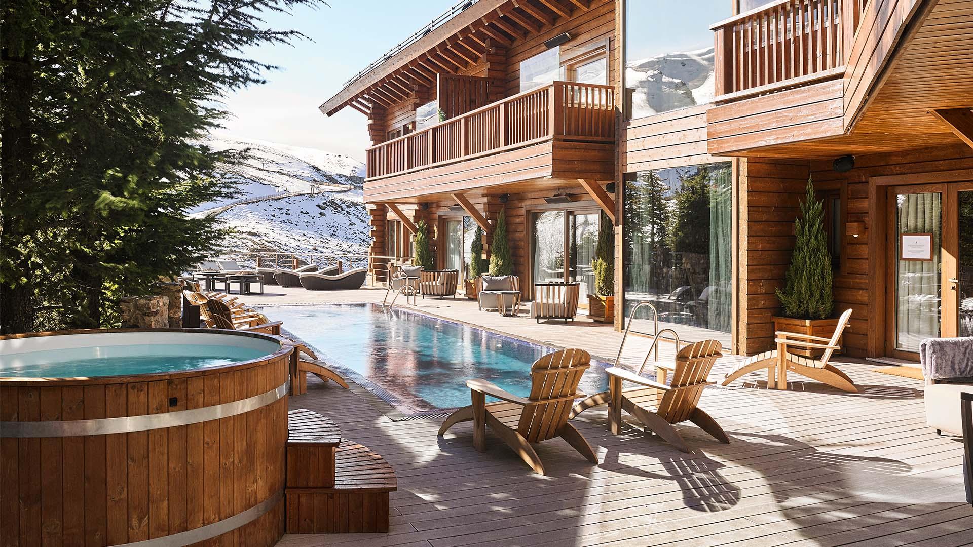 6 sensational ski hotels with hot tubs